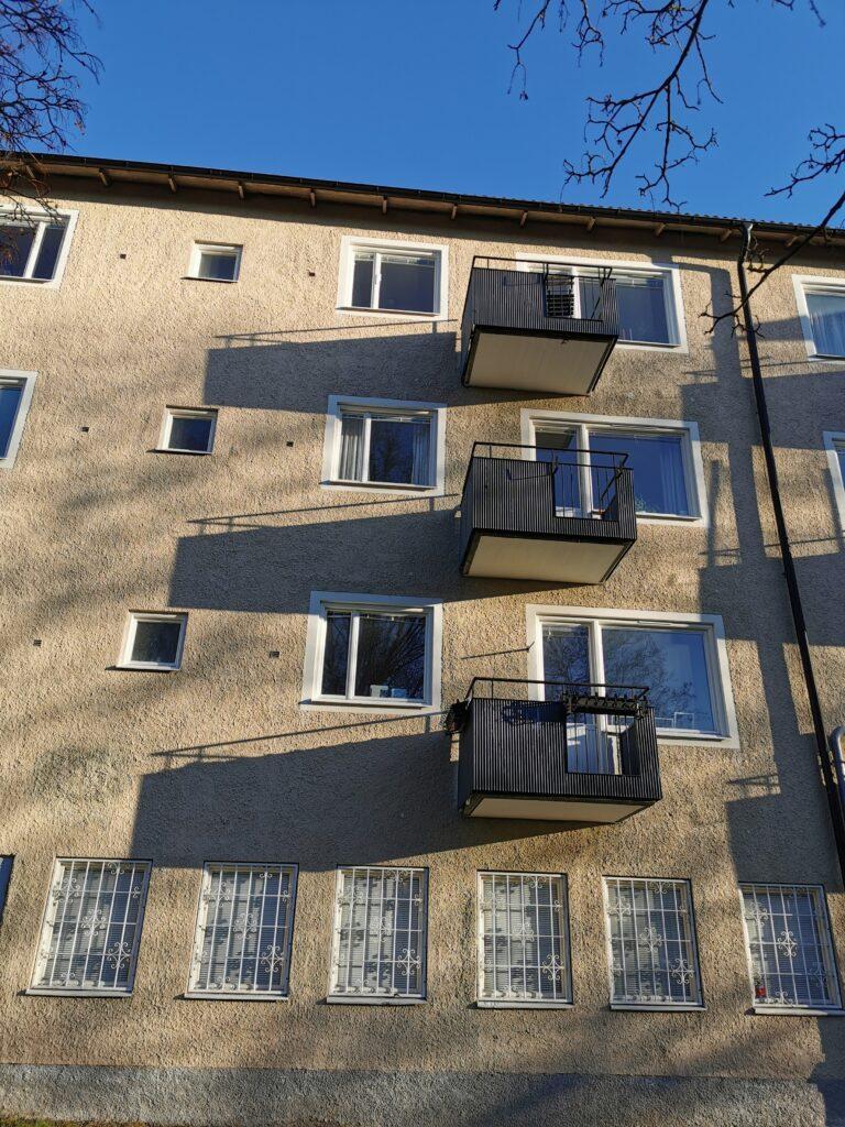 Förnya balkonger