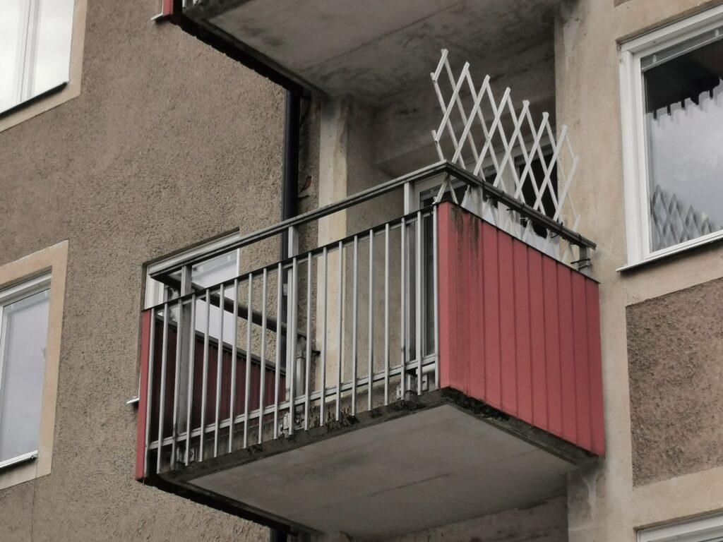 Förnya balkong