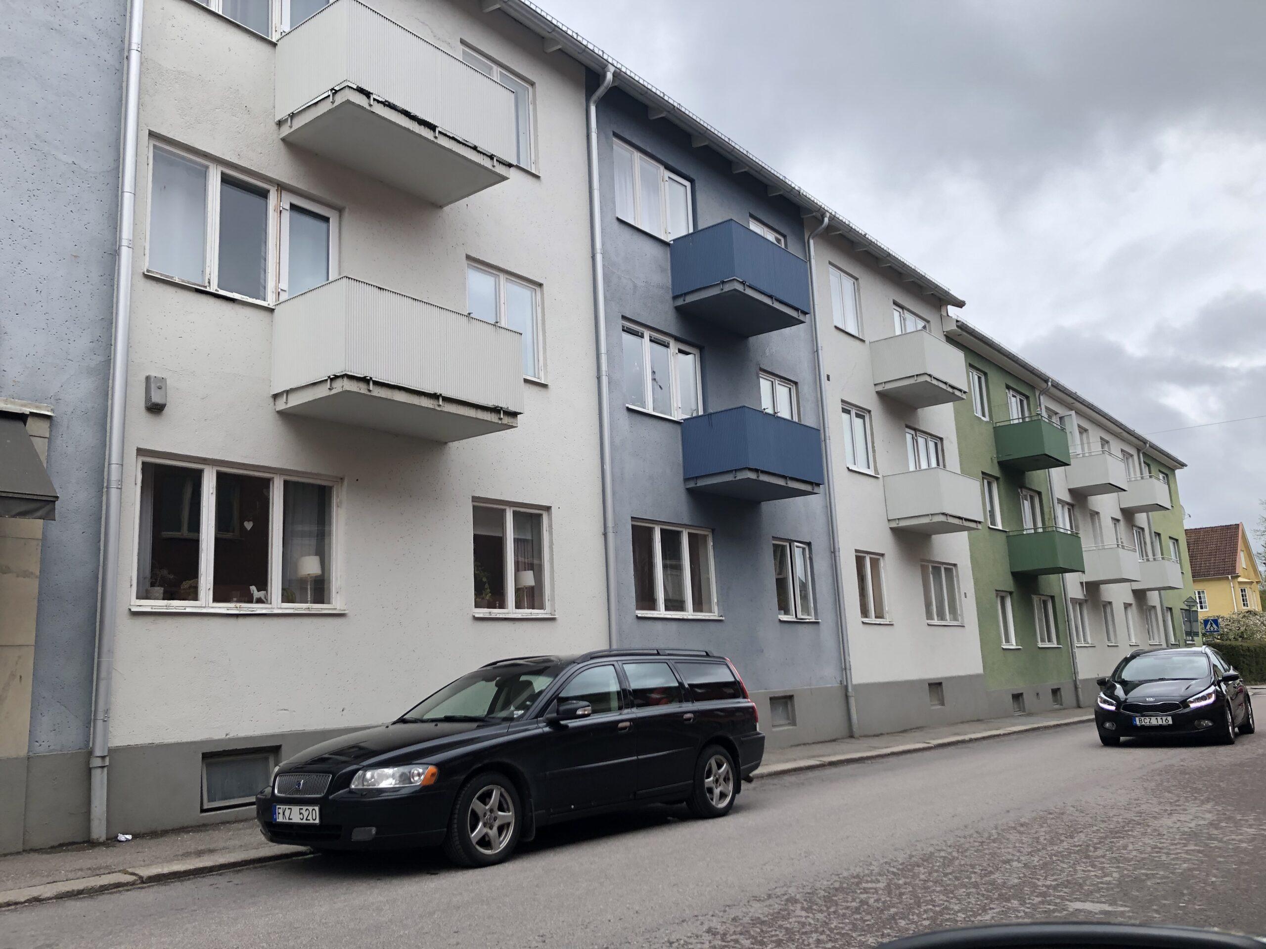 Vackra modernistiska hus i Askersund