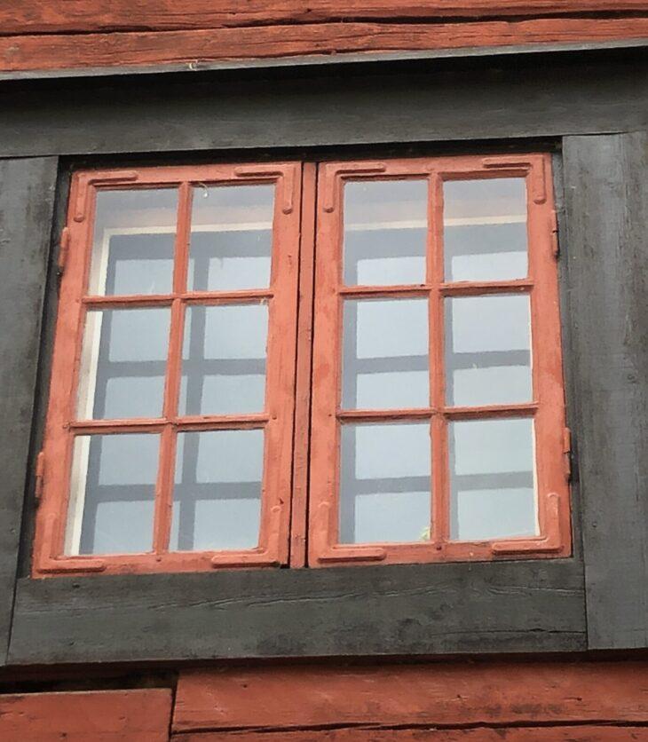 Äldre fönster i Wadköping