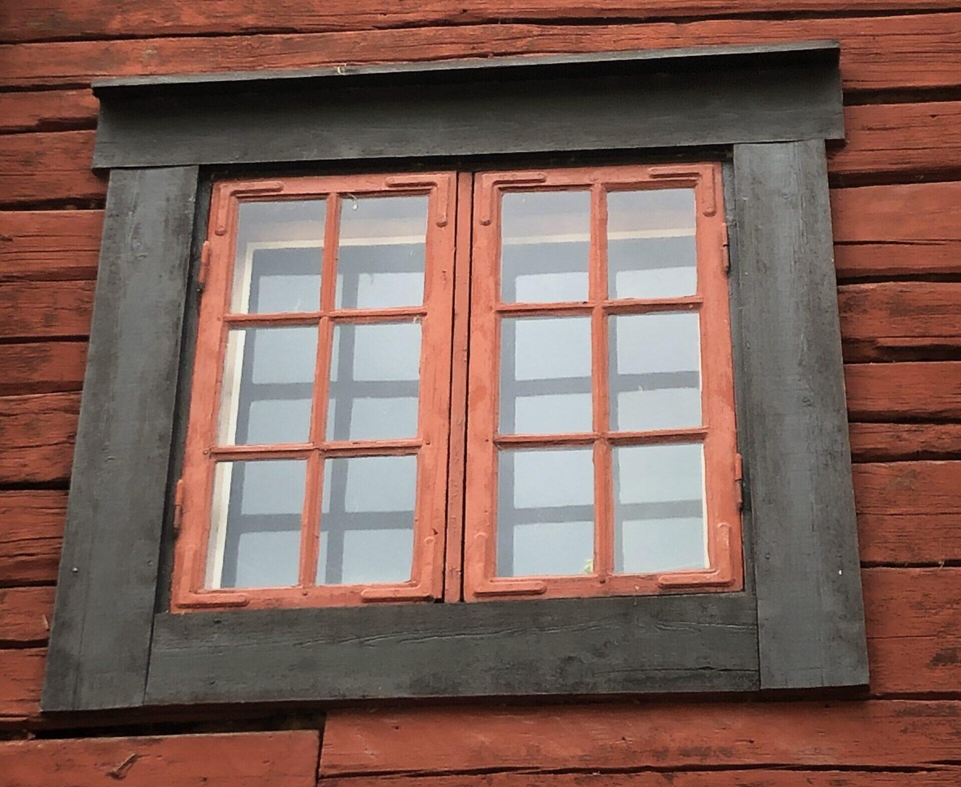 Gamla fönster i Wadköping