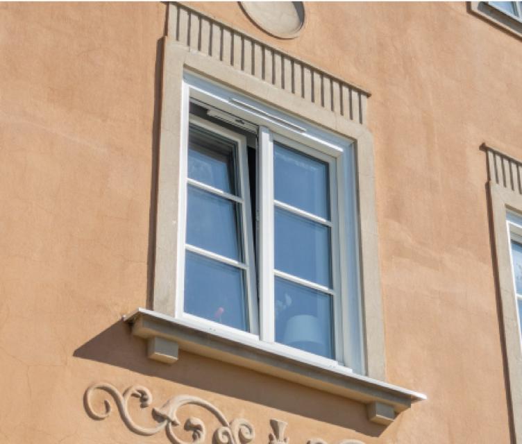 hus utbytt fönster