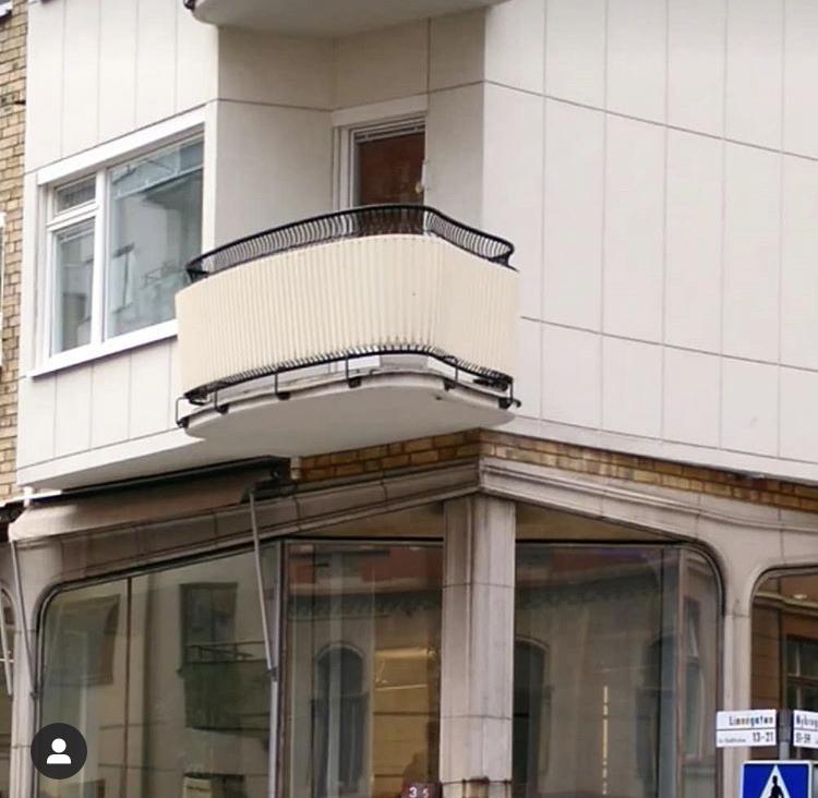 Balkong Linnégatan