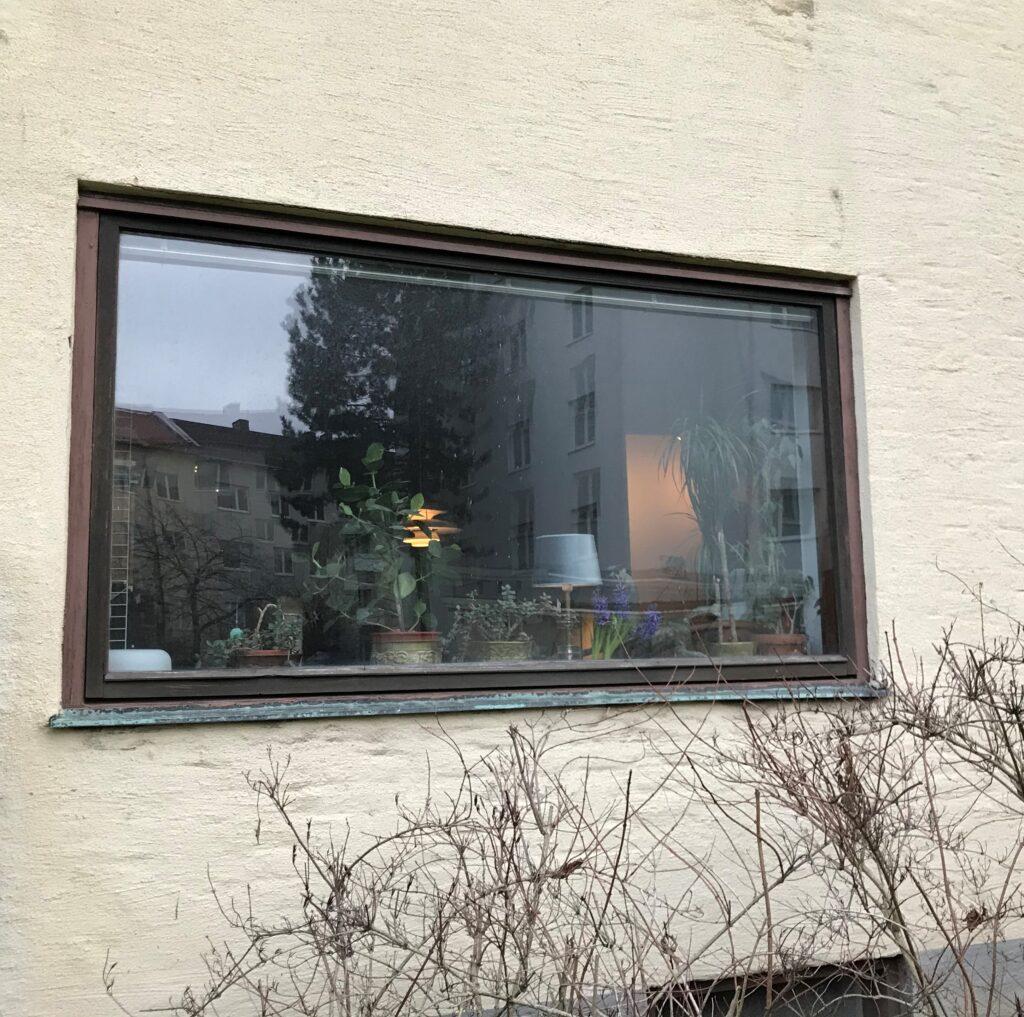 fönster kasseras